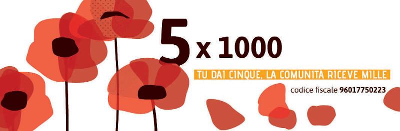 Campagna 5×1000 Ucipem Trento 2020